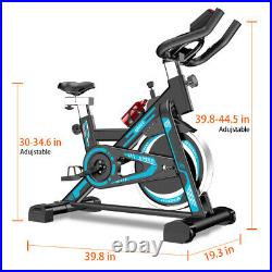 550lb Indoor Exercise Bike Bicycle Cycling Fitness Gym Cardio Workout Stationary