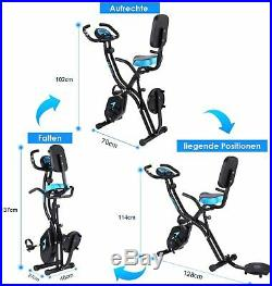 ANCHEER Bicycle Cycling Exercise Bike Folding Fitness Cardio Indoor Home Workout