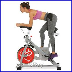 ANCHEER Indoor Cycling Exercise Bike Spinning Bike Cardio Fitness Bicycle 49LBS