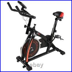 AW Exercise Stationary Cycling Bicycle Cardio Bike Indoor Gym Workout Fitness