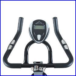Adjustable Exercise Bike Stationary Indoor Cycle Bicycle 33lbs Flywheel Workout