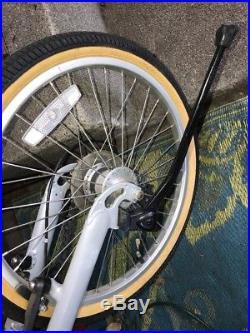 Awesome Rare BikeE RECUMBENT BIKE E BICYCLE with Trunk Bag