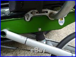 Awesome Rare BikeE RECUMBENT Model NX5.0 Size XL BICYCLE with Bag