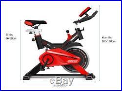 Bici estatica Maketec con volante de inercia de 24kg muy alta calidad