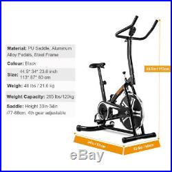 Bicycle Cycling Fitness Exercise Stationary Bike Cardio Trainer Home Gym OT077