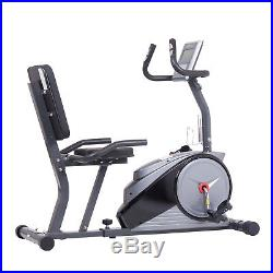 CLEARANCE LIMITED QUANTITY Magnetic Recumbent Exercise Bike w Computer Programs