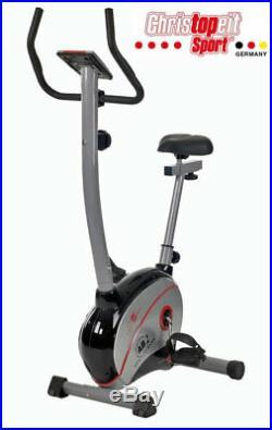 Christopeit Heimtrainer Fitnessbike Fitnessfahrrad LCD Computer Ergometer Sport
