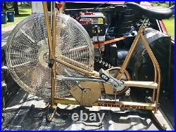 Classic Schwinn Airdyne Model Ad-3 Dual Action Exercise Bike