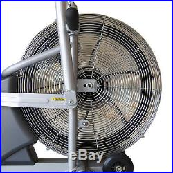 Deluxe Fan Bike Marcy AIR-1 Resistance System Exercise Cardio Workout Machine