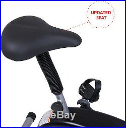 EXERCISE BIKE TRAINER Fan Bicycle Stationary Cardio Upright Fitness Manual Tensi
