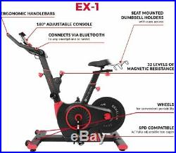 Echelon Smart Connect EX1 Indoor Cycling Cycle Cardio Exercise Bike Red NEW