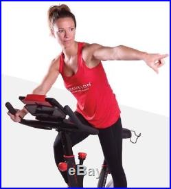 Echelon Smart Connect EX1 Indoor Cycling Cycle Cardio Exercise Bike with App Red