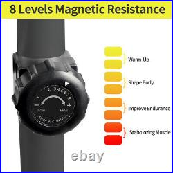 Elliptical Machine Eliptical Cross Trainer 2 in 1 8 Levels Magnetic Resistance