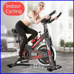 Exercise Bicycle Indoor Bike Cycling Cardio Adjustable Gym Workout Fitness Home