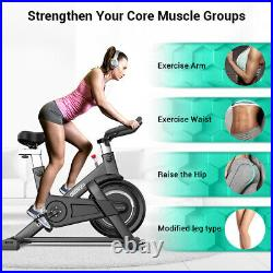 Exercise Bike Fitness Gym Indoor Cycling Stationary Bicycle Cardio Workout OT198
