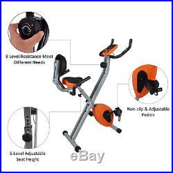 Exercise Bike Folding Home Gym Cycling X- Bike Magnetic Trainer Fitness training