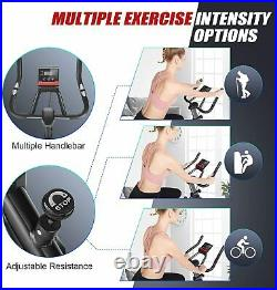 Exercise Bike Indoor Cycling Bicycle Stationary LCD Display Home-Gym2in1Cardio