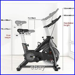 Exercise Bike Indoor Cycling Bicycle Stationary LCD Display HomeNew 2in1 Cardio