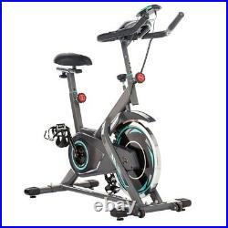 Exercise Bike Indoor Cycling Bike 300lbs Capacity Black&Grey Adjustable