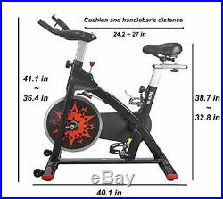 Exercise Bike Indoor Cycling Bike Peloton Bicycle for Home Gym Workout