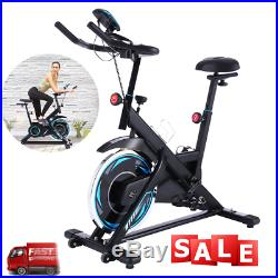 Exercise Bike Indoor Cycling Bike Stationary Comfortable Seat Cushion Upgraded