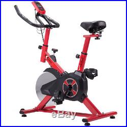Exercise Bike Spin Cycle Staionary Bicycle Cardio Fitness Euipment Gym Cycling