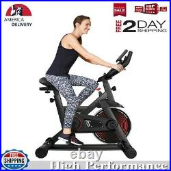 Exercise Bike Stationary Bicycle Indoor Cycling Cardio Fitness Workout Gym Bike