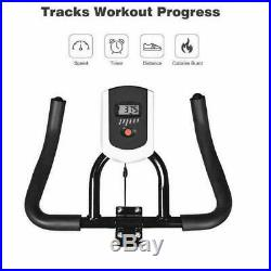 Exercise Bike Stationary Bicycle Indoor Cycling Cardio Fitness Workout Health