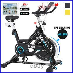 Exercise Bike Stationary Bicycle Indoor Cycling Cardio Fitness Workout Home APP