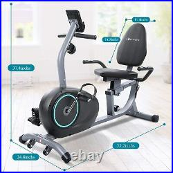 Exercise Bike Stationary Indoor Cycling Bicycle Fitness Adjustable Resistance