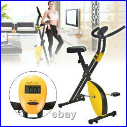 Exercise Bike Workout Health Fitness Portable Upright Exercise Calories Burned