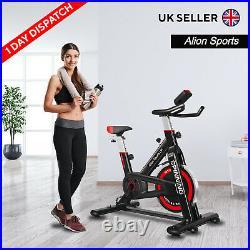 Exercise Spin Bike Studio Cycle Indoor Training Gym 13kg Spinning Flywheel