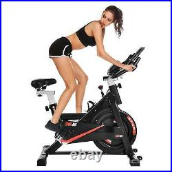 Exercise Stationary Bike Bicycle Cycling Home Gym Cardio Workout Indoor Fitness