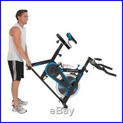 Exerpeutic LX7 Indoor Cycle Trainer with Computer Monitor and Heart Pulse