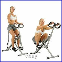 Fitness Squat Assist Exercise Glutes Workout Rowing Machine Arm Leg Adjustable
