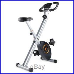 Foldable Exercise Bike Magnetic Stationary Indoor Cycling Cardio Gym Workout LCD