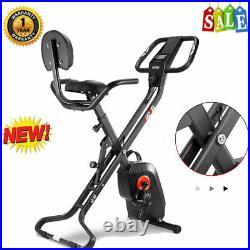 Foldable Stationary Upright Exercise Bike Magnetic X-BIKE Cardio Workout Cycling