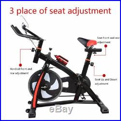 HEWOLF PRO-Stationary Exercise Bicycle-Indoor Cycling Cardio Workout ZH914300