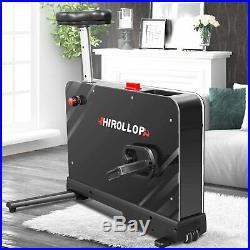 HIROLLOP Indoor Cycling Bike, Standing Desk Exercise Bike Workout Cardio Home US