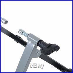 HOMCOM Indoor Bicycle Bike Foldable Turbo Trainer Fly Wind Fan Wheel Unit Quiet