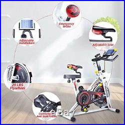 Home Gym Equipment Bike Seat Cushion Spin Cycle Professional Exercise IpadHolder