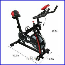 Home Gym Exercise Bike Stationary Cycling Cardio Workout Indoor Fitness Bicycle