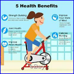 Indoor Bicycle Cycling Fitness Gym Exercise Stationary Bike Cardio Workout NEW