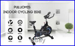 Indoor Cycling Bike Exercise Spin Bicycle Stationary Bikes with Monitor Display