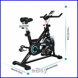 Indoor Cycling Bike Stationary Exercise Bike with Heart Rate Monitor APP Control