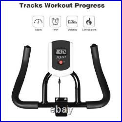 Indoor Exercise Bicycle Stationary Cycling Fitness Home Gym Bike Cardio Workout