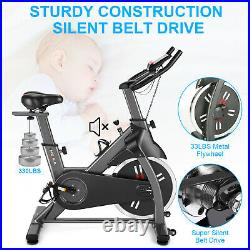 Indoor Exercise Bike Home Stationary Cycling Flywheel Magnetic Resistance 400lb