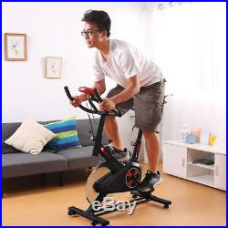 Indoor Exercise Bike Stationary Bicycle Cardio Fitness Gym Home Cycling Fitness