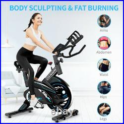 Indoor Exercise Bike Stationary Cycling Bike Home Office Cardio Workout Bike New