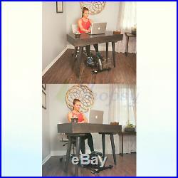 Jfit Under Desk & Stand Up Mini Elliptical/Stepper withAdjustable Angle The I